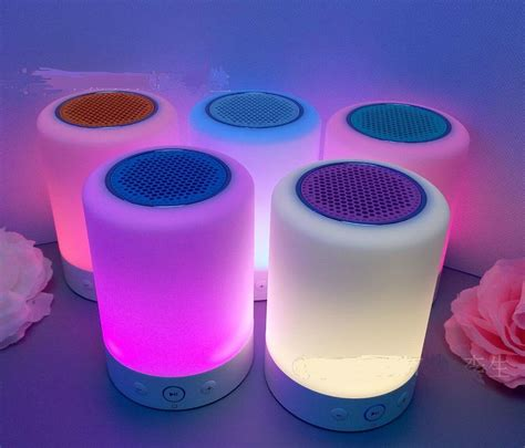 Touch Sensor Led Table L With Bluetooth Speaker 1 touch table l products diytrade china manufacturers
