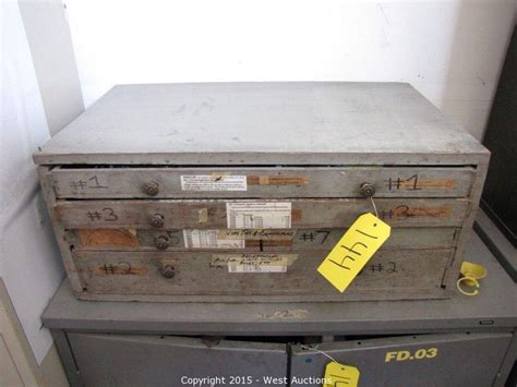 4 drawer hardware organizer west auctions auction complete liquidation of sign