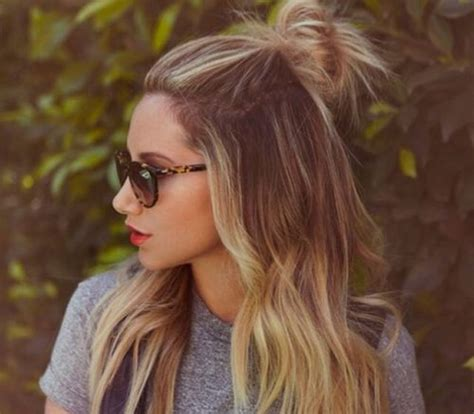 half trend easy chic summer hairstyles twenty something living