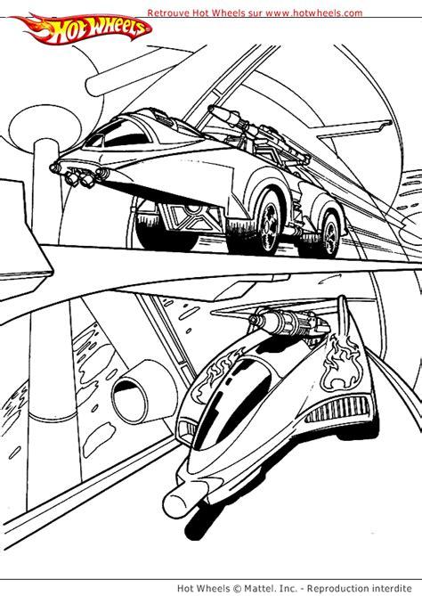 Coloriage Hot Wheels Voitures Futur Sur Hugolescargot Com Dessin Voiture De Course Imprimer L