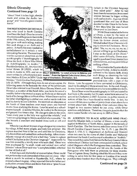 Free Records South Carolina Free Moors And Quot Turks Quot In South Carolina