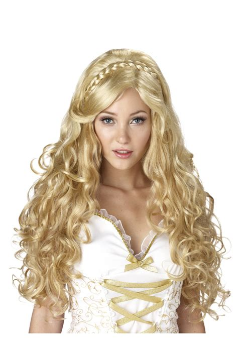 halloween goddess hairstyles golden greek goddess wig ladies greek goddess costume ideas