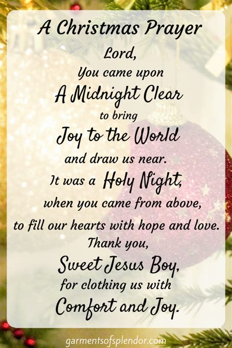christmas prayer in the school this prayer of our savior s this season faith holidays