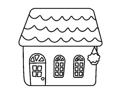 desenho de casas desenho de casa de conto para colorir colorir