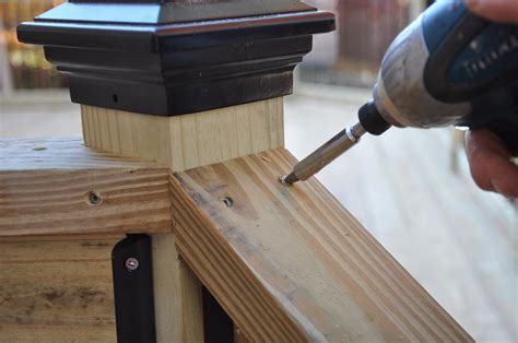 how to attach banister to wall decks com deck stair railings