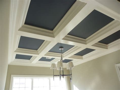 Coffered Ceiling Framing Dining Room Coffered Ceilings Pictures To Pin On