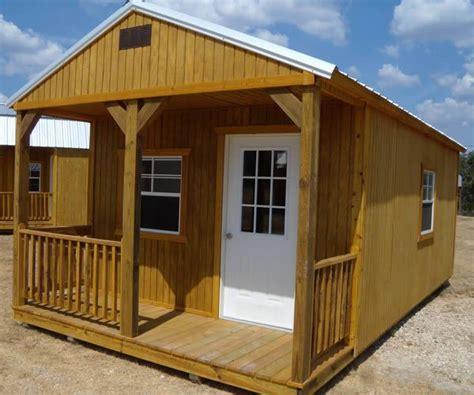 derksen portable treated cabin  porch visit www