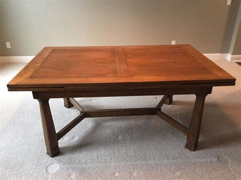 oak dining table and 6 chairs for sale classifieds