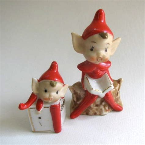 80 best images about vintage christmas pixie elves on