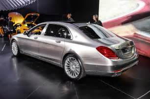 Mercedes S600 Maybach 2016 Mercedes Maybach S600 Rear Three Quarter Photo 1