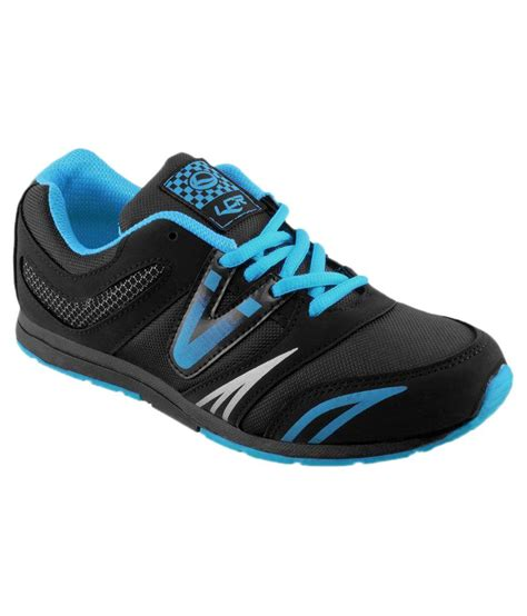 lancer black running sports shoes price in india buy