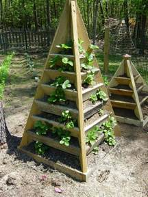 Strawberry Tower Planter by How To Make A Strawberry Pyramid Planter The Owner