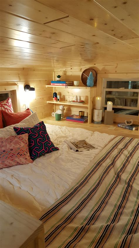 small house with loft bedroom the getaway tiny house project glenmark construction inc