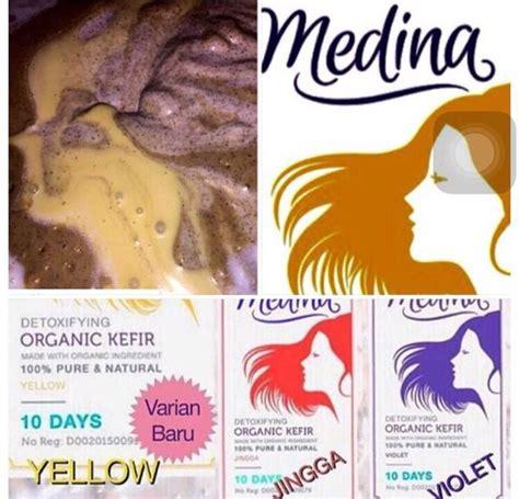 Masker Medina Organic Kefir ina membuat medina kefir semula untuk diri sendiri daily