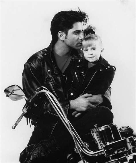 full house jesse jesse michelle and a motorcycle full house photo 36366140 fanpop