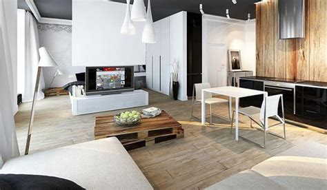cool apartment ideas cool apartment ideas blending wood into black and white