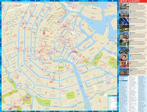 amsterdam museum district map amsterdam mapa threeblindants