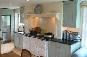 Second Hand Kitchens Cabinets Modern Country Style Case Study Farrow And Ball Blue Gray