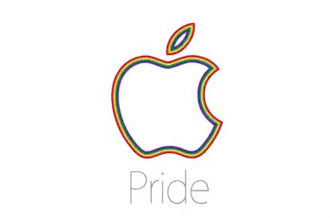 Pride Logo 4 apple posts pride emphasizes support for equality