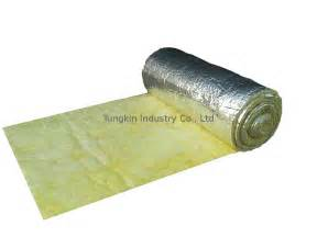 pipe line glass wool blanket thermal acoustic insulation
