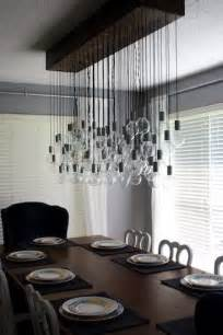 Diy Dining Room Light Diy Dining Room Light For The Home