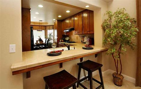 breakfast bar ideas small kitchen 12 small kitchen layouts for better space organization
