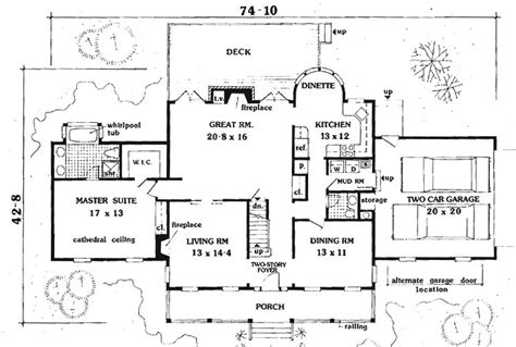 5 bedroom country house plans southern country 5 bedrooms 6992 5 bedrooms and 2 baths