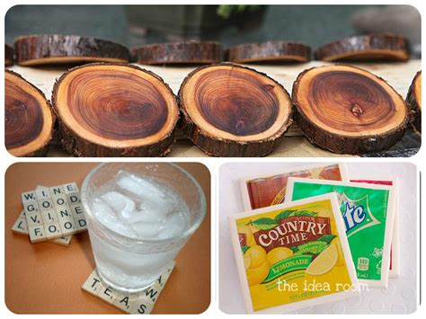 homemade coasters 16 gorgeous diy coasters