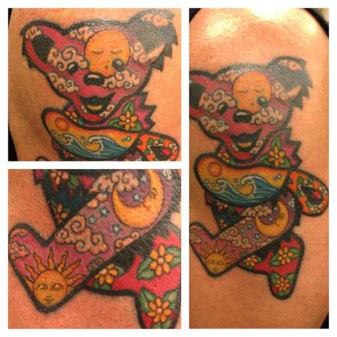 dancing bear tattoo designs 17 best images about on grateful dead