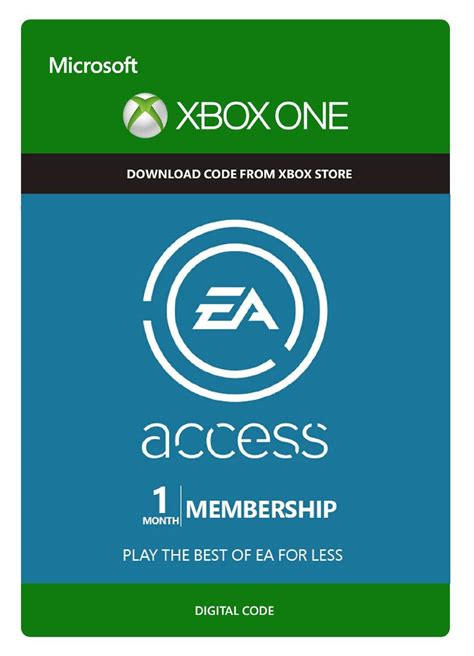 Ea Access Gift Card - ea access 12 month xbox one 48 hours for free