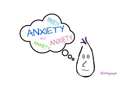 Anxiety Drawings