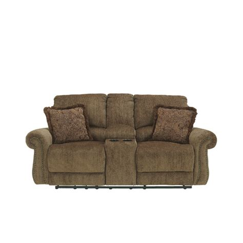 ashley dual reclining sofa signature design by ashley rockhill double reclining