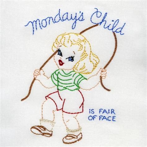 More On Monday One By Child by 1352 Best Embroidery For Towels Images On