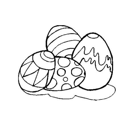 imagenes para pintar huevos de pascua dibujo de huevos de pascua para colorear dibujos net