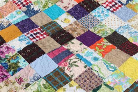 Bohemian Patchwork Quilt - vintage bohemian patchwork quilt hippie boho retro