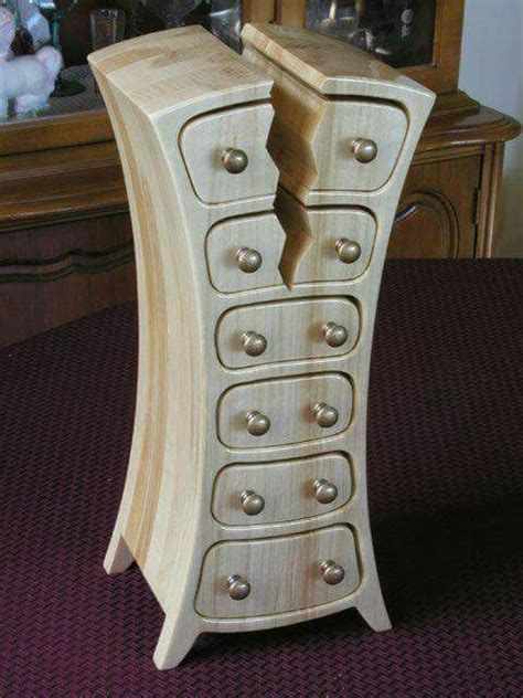 cracked bandsaw box woodworking ideas pinterest