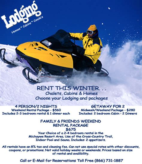 boat rentals in gaylord mi snowmobile lodging