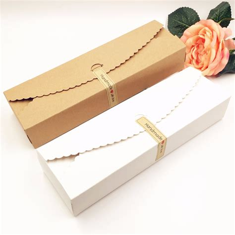 Handmade Chocolates Wholesale - 20pcs lot kraft gift boxes paper handmade chocolate