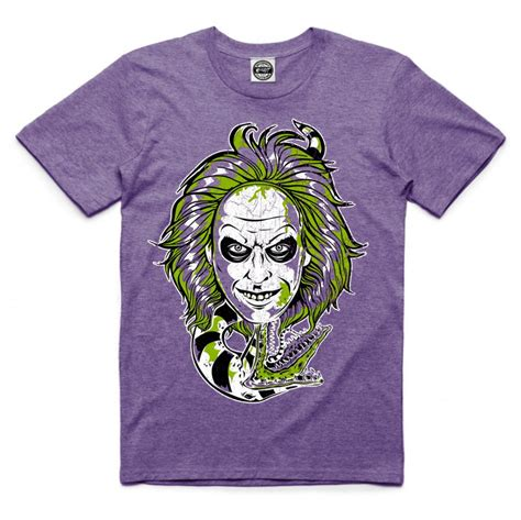 Tshirt Juice Matic Original Size L beetlejuice t shirt tim burton headshot clothing exclusive