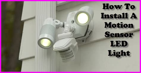 how to install motion detector lights how to install can lights 100 fisheye recessed light how
