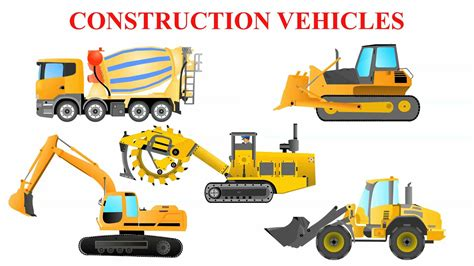Construction Vehicle Truck by Construction Vehicles For Children Construction Trucks
