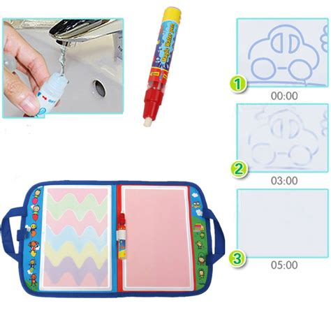magic doodle pen review foldable portable water doodle drawing mat writing board