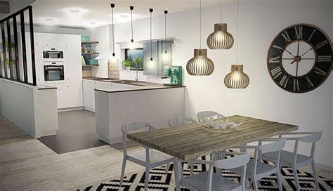 Idee De Deco Salon 4920 deco salle manger cuisine design idee scandinave salon