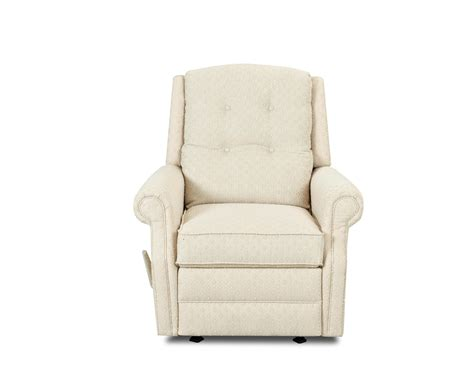 reclining swivel chair transitional swivel gliding reclining chair with button