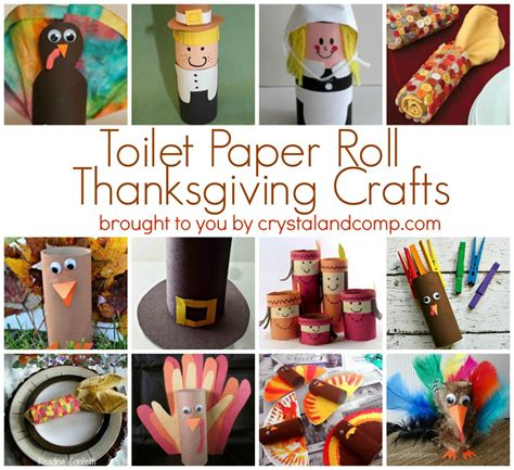 Thanksgiving Toilet Paper Roll Crafts - toilet paper roll thanksgiving crafts