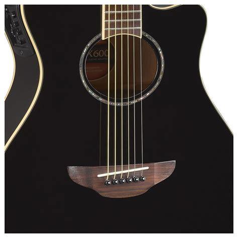 Yamaha Apx600 yamaha apx600 electro acoustic black at gear4music