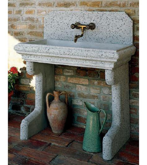 lavelli da esterno in cemento lavatoio esterno in cemento