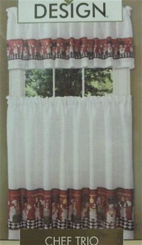 italian chef kitchen curtains new in package fat chef curtains valance tier italian