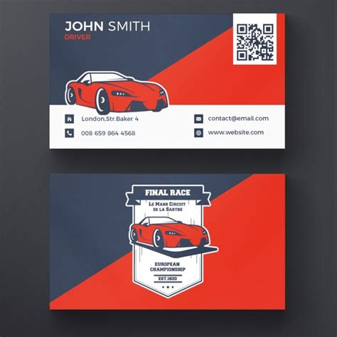 Car Wallpapers Free Psd Design by Car Racing Business Card Psd File Free