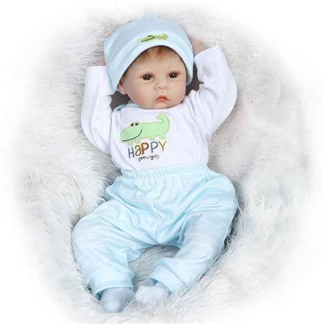 Handmade Baby Doll Clothes - handmade lifelike baby boy doll silicone vinyl reborn